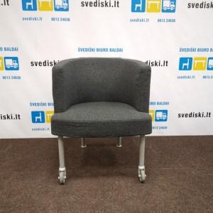 Kinnarps TRIX Fotelis Su Ratukais Ant Priekinių Kojų, Švedija