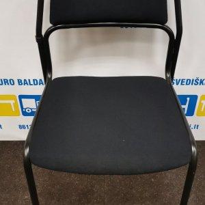 Švediški.lt Kinnarps Jig Juoda Lankytojo Kėdė, Švedija