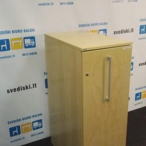 Svediski.lt Edsbyn Beržo Dešininė Spintelė Su Baltu Vidumi, Švedija
