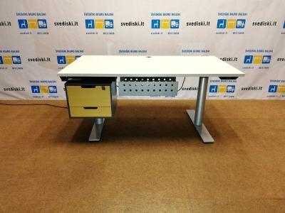 B8 System 3000 Reguliuojamo Aukščio Stalas Su Stalčių Dėžute, Švedija