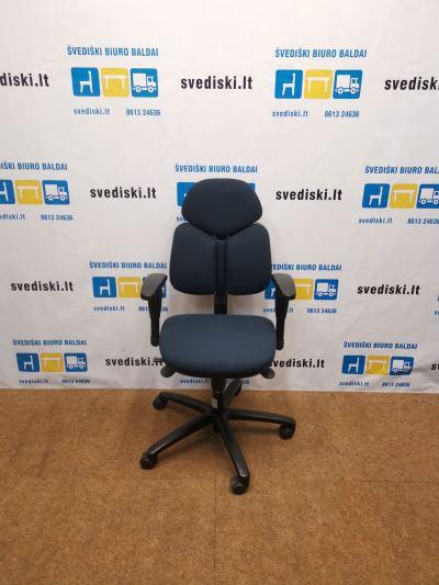 Ronal Eron Tamsiai Mėlyna Ergonomiška Biuro Kėdė Su 3D Porankiais, Švedija