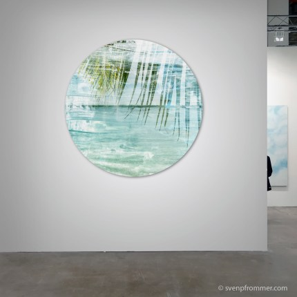 LA MER - Circular Mixed Media Works by Sven Pfrommer