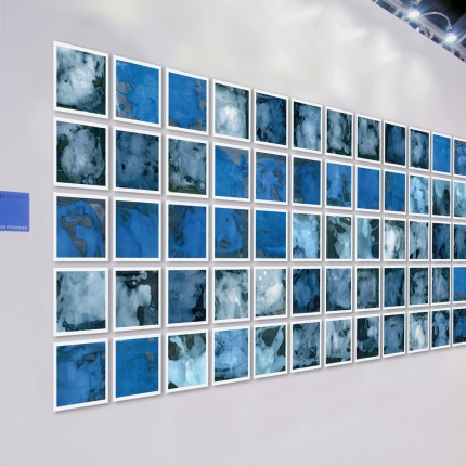 195 Glaciers, Installation Art by Sven Pfrommer