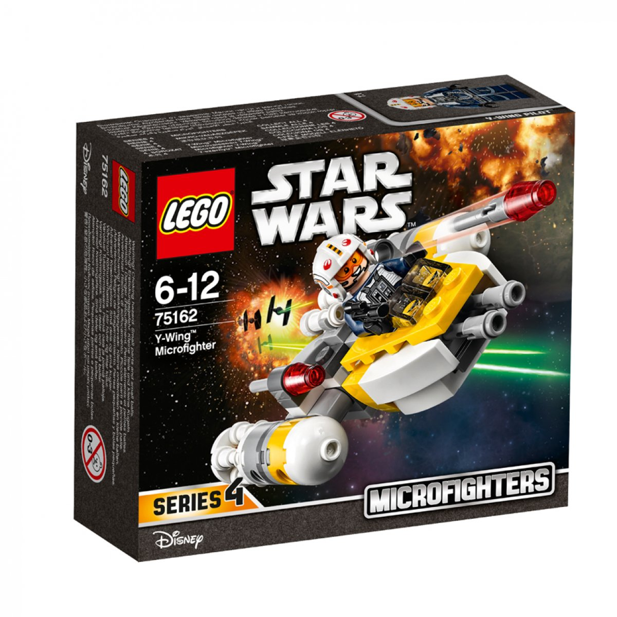 LEGO® Star Wars 75162 Microfighter 3 - Confidnetial