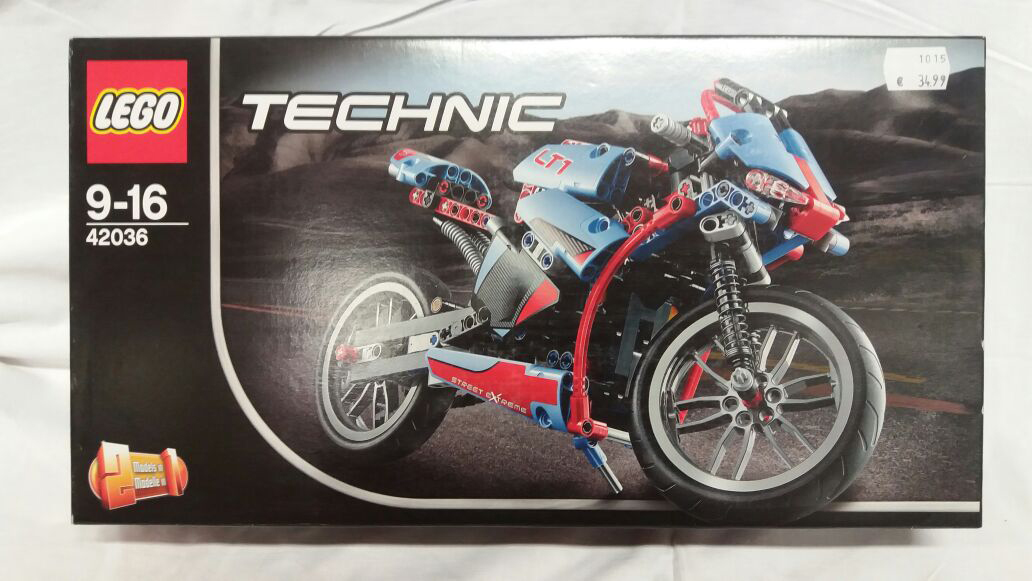 Lego Technik 430236 Straßenmotorrad