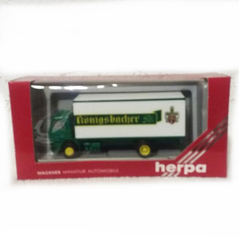 "HERPA Scania Koffer LKW ""Königsbacher Pils"""