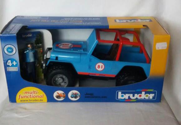 Bruder 02541 - Jeep Cross Country Racer mit Rennfahrer
