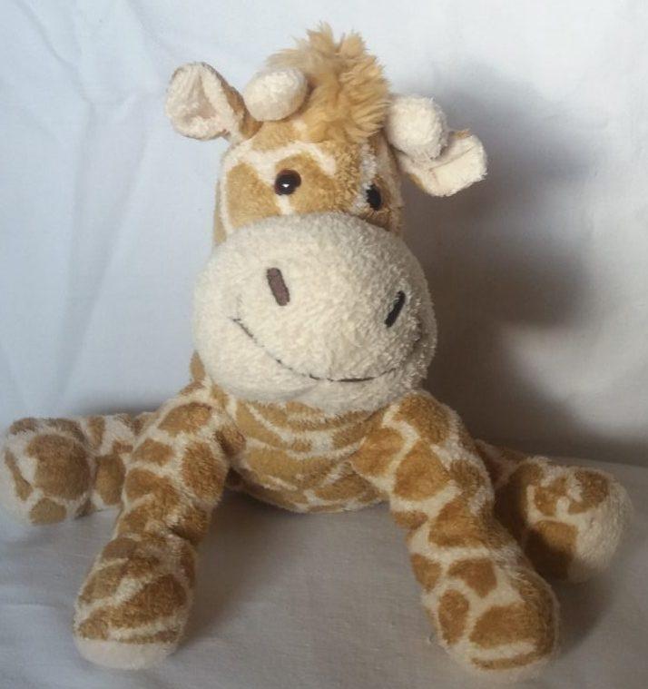 Plüschtier-Giraffe
