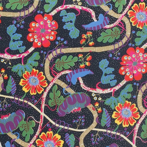 Mirakel Black Josef frank Textiles