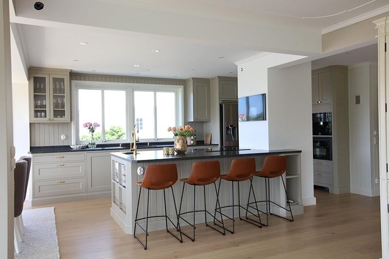 Nytt platsbyggt kök