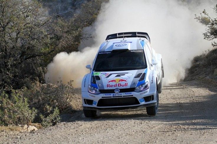 Sebastien Ogier WRC VW Polo Mexico 2013