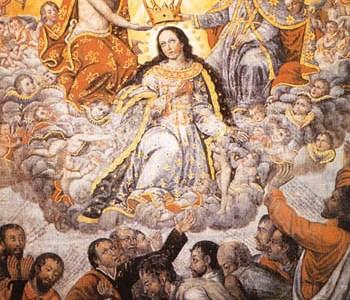 22.8. – Blažena djevica Marija, Kraljica