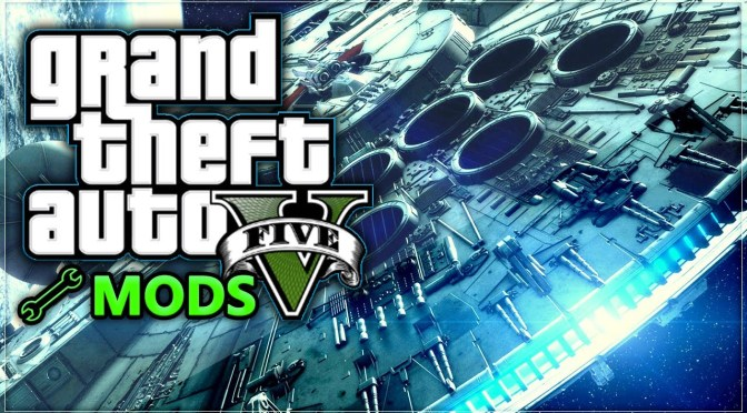 GTA V MODS – Millennium Falcon and Star Destroyer