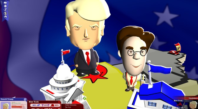 THE POLITICAL MACHINE 2016 – ELECTION SIM GAME