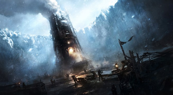 Frostpunk – desperate people struggling to maintain the city