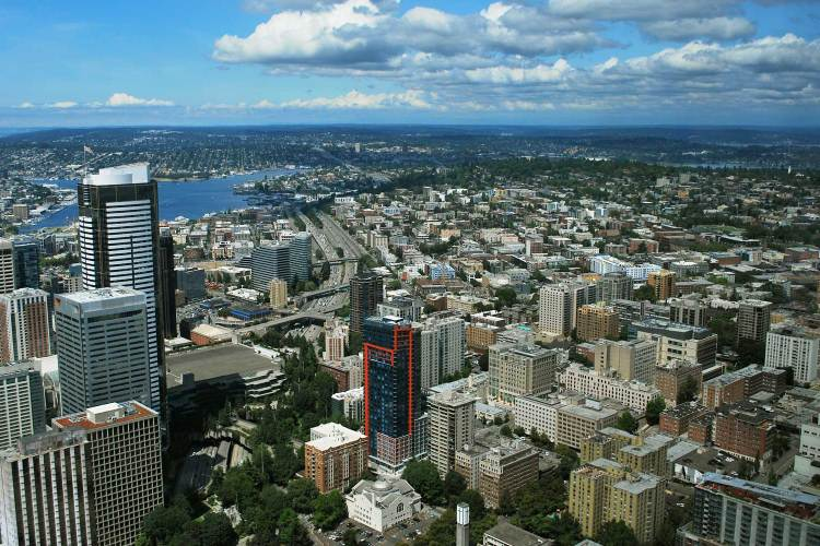 Sky View Observatory - A Perfect Day In Seattle Photo Reportage