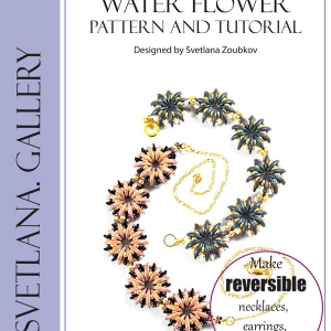 Water Flower Bead Pattern and Tutorial