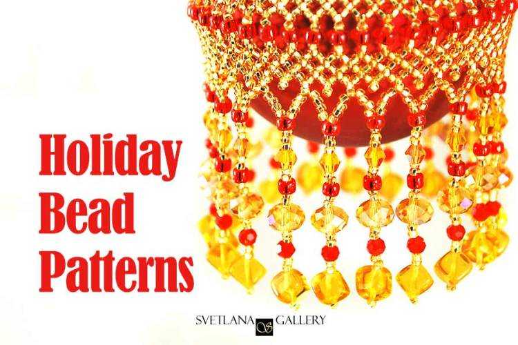 Beaded Christmas Tree Ornaments and Holiday Bead Patterns