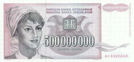 500 miliona