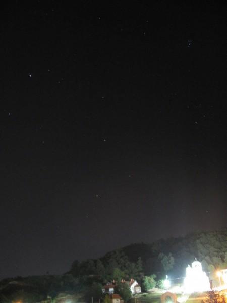 Mars i Plejade (28. avgust 2009)