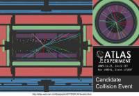 Tragovi prvog sudara u detektoru ATLAS (23.11.2009, 14:22)
