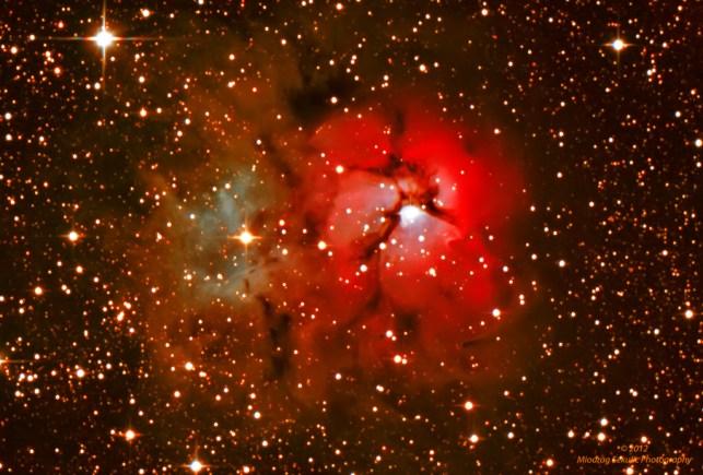 M 20 - Trifid nebula