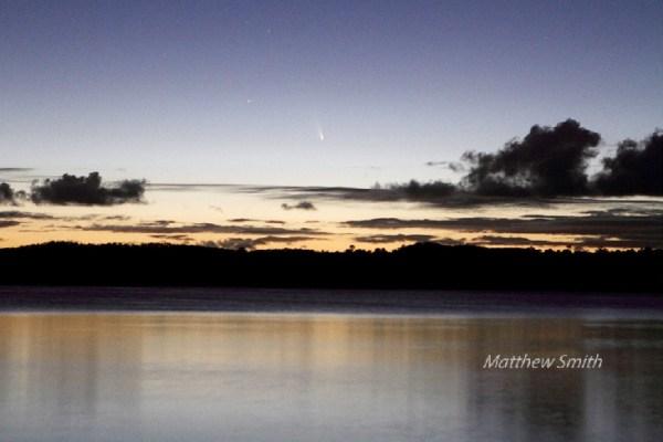 Kometa C/2011 L4 Pan-STARRS, snimio Matthew, March 6, 2013 @ Green Point, NSW, Australia