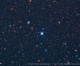 Eksplozija zvezde u sazvržđu Delfin [16.08.2013] 2