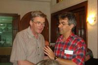 Julius Wess (levo) i Goran Djordjevic (desno) na BW2003