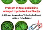 """Problem tri tela: periodična rešenja i topološka klasifikacija"" 4"