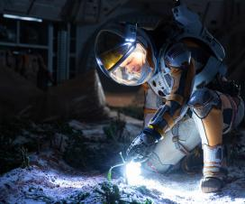 Astronauti nestrpljivo čekaju film :) 9