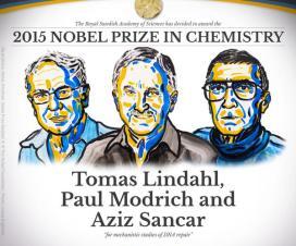 Nobelova nagrada za hemiju (2015) 1