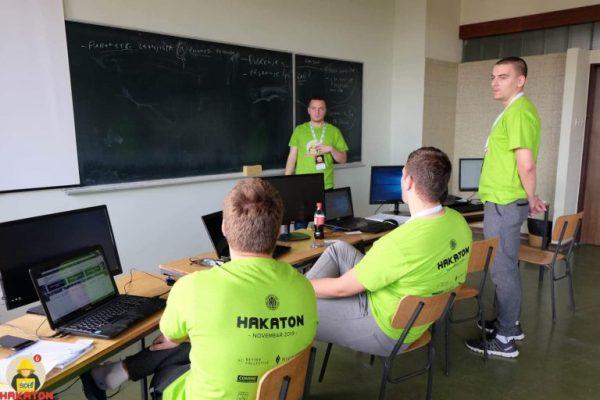 Ekipa sa PMF-a u Nišu osvojila drugo mesto na SICEF Hakatonu #6 2