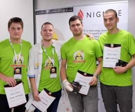 Ekipa sa PMF-a u Nišu osvojila drugo mesto na SICEF Hakatonu #6 4