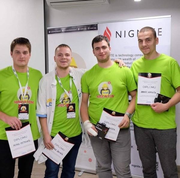 Ekipa sa PMF-a u Nišu osvojila drugo mesto na SICEF Hakatonu #6 1