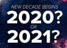 Početak nove decenije - učimo da brojimo & računamo vreme 2
