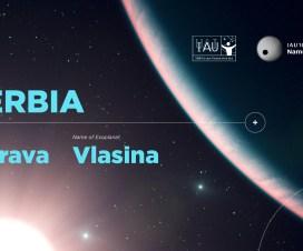 Planeta Vlasina oko zvezde Morave 1