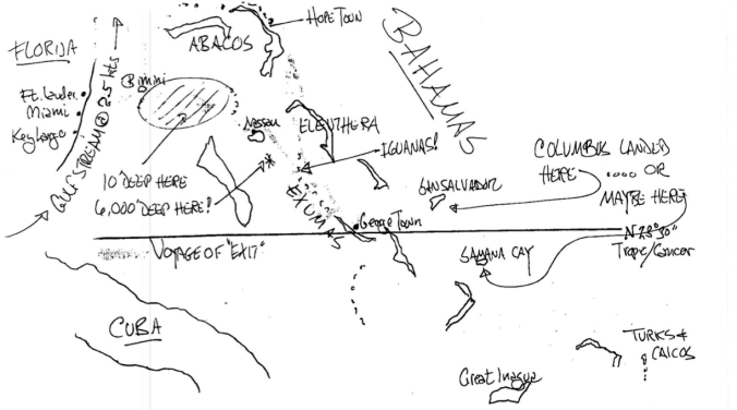 Faxed Map