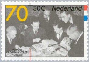 Groep verzamelaars op NL 70+ 30 cent