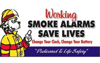 Daylight Savings and Smoke Alarm Battery Change