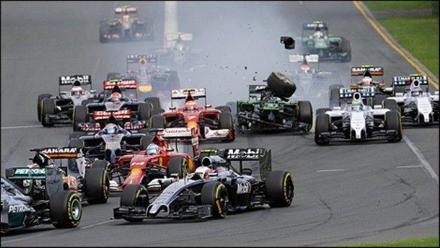 F1 sudar