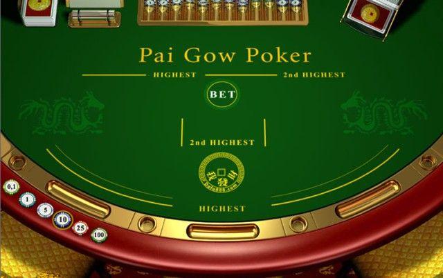 Pai Gow poker pravila