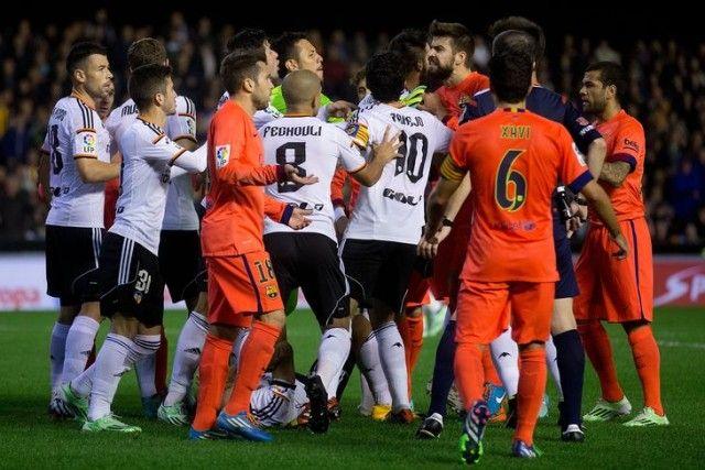 Barcelona Valencia guzva naslovna