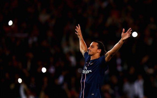 Ibrahimović slavi pogodak