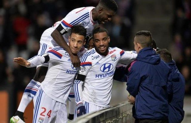Lyon - Toulouse, slavlje