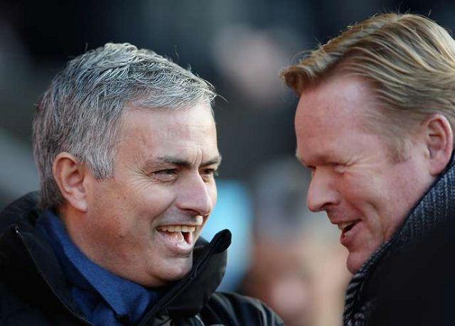 Mourinho i Koeman