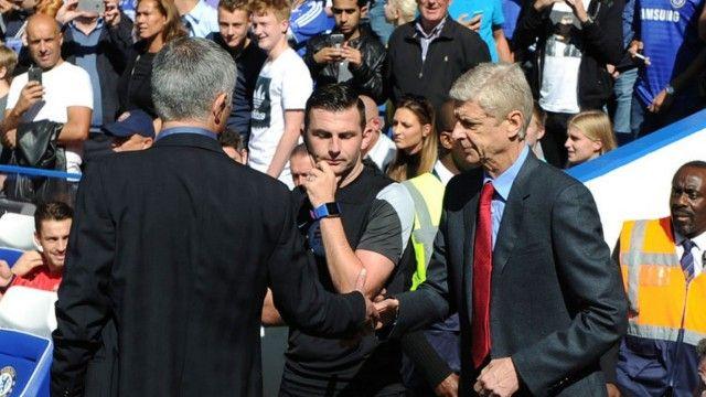 Mourinho i Wenger