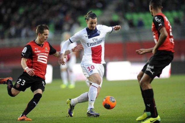 Rennes - PSG, Ibrahimović