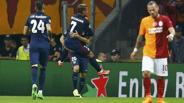 Atletico Madrid - Galatasaray