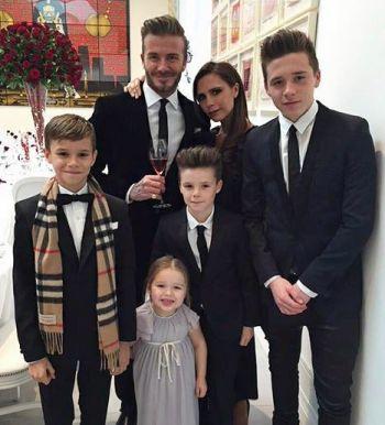 David Beckham i porodica